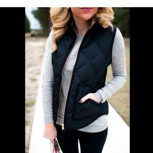 J. Crew Mercantile Quilted Vest size xs